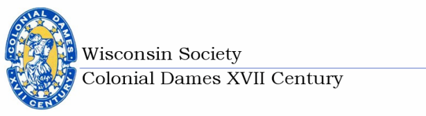 Wisconsin Society Colonial Dames XVII Century